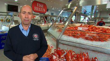 Rise of Christmas seafood prices. (9NEWS)