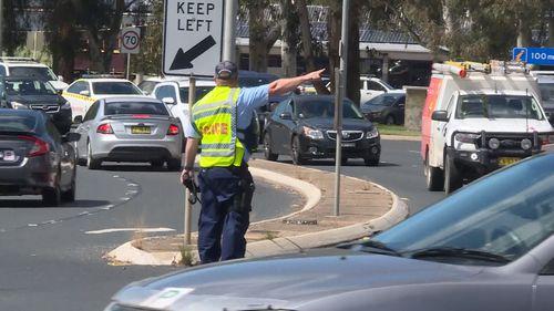 News NSW Bathurst pedestrian killed truck crash Red Rooster