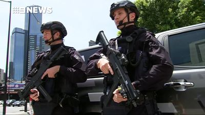 New specialist police officers patrol CBD and major events to target terrorism