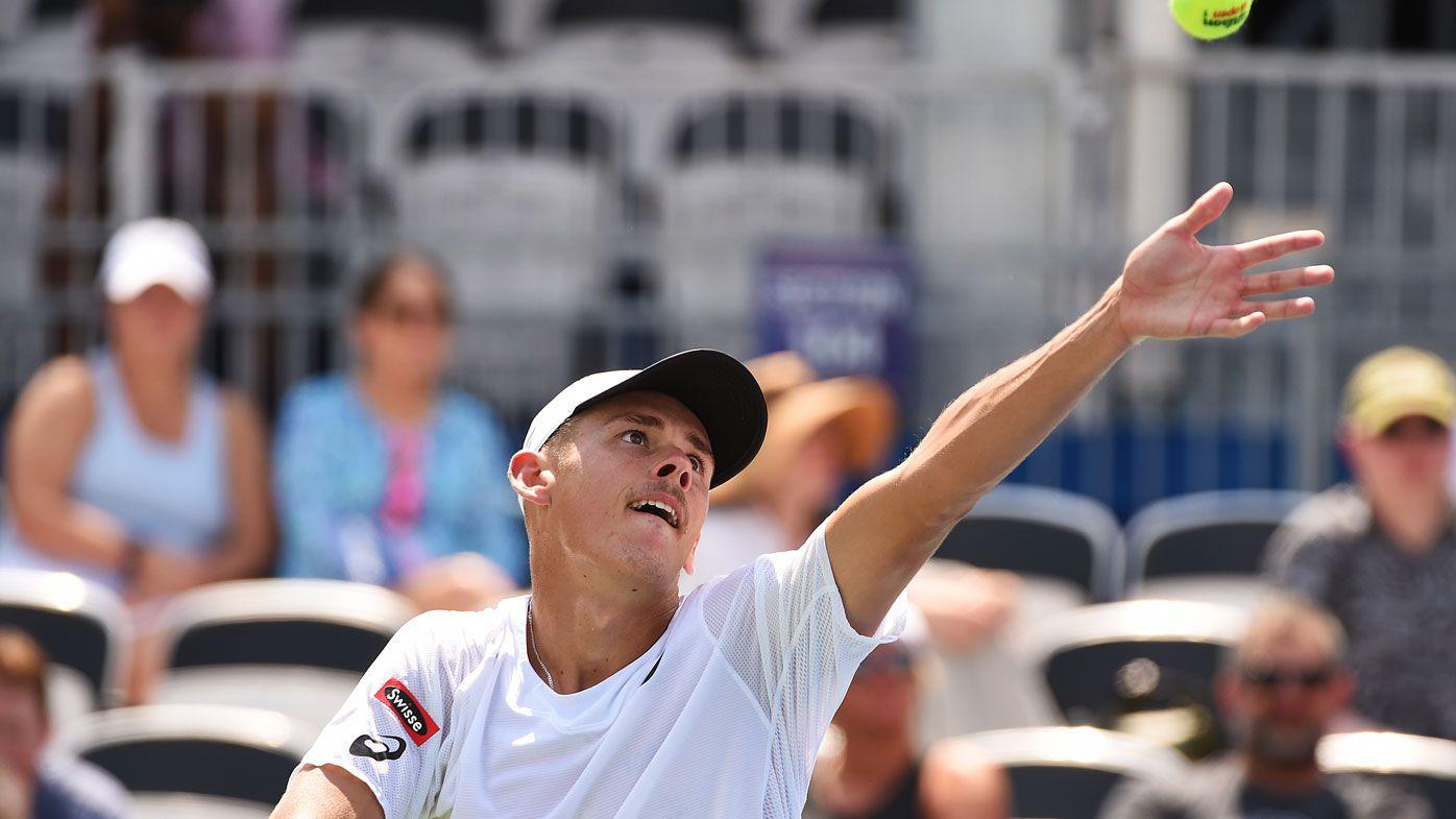 Alex De Minaur battles to Atlanta Open final, on brink of second ATP Tour title