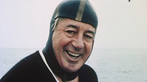 Holt enjoyed swimming, particularly near his holiday home at Portsea, Victoria. (AAP)