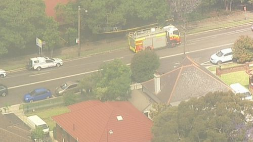 Police, Ambulance and fire officers were all sent to the scene on the corner of Shaftsbury Road and Rutledge Road in Eastwood.