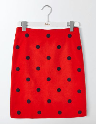 """<a href=""""http://www.bodenclothing.com.au/en-au/womens-new-in/skirts/t0024-red/womens-post-box-red-tilda-skirt"""" target=""""_blank"""" draggable=""""false"""">Boden Fenella Embroidered Skirt, $140.</a>"""