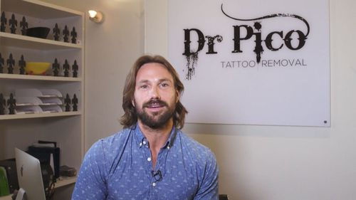 Dr Kolodzej runs the Dr Pico tattoo removal clinic in Sydney.