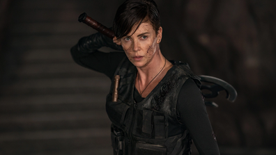 Charlize Theron holds her own as Andy.