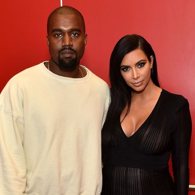 Kanye West and Kim Kardashian in 2015.
