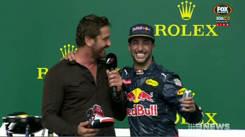 Ricciardo finishes third at US Grand Prix