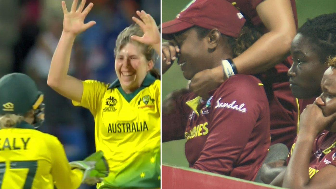 Australia defeat the West Indies