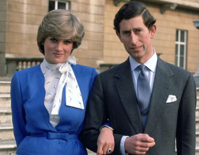 For The Announcement Of Her Engagement To Prince Charles Diana Wore A Blue Skirt Suit Shed Hurriedly Bought Off Rack At Harrods