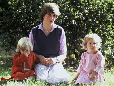 Princess Diana working at a kindergarten in 1980.