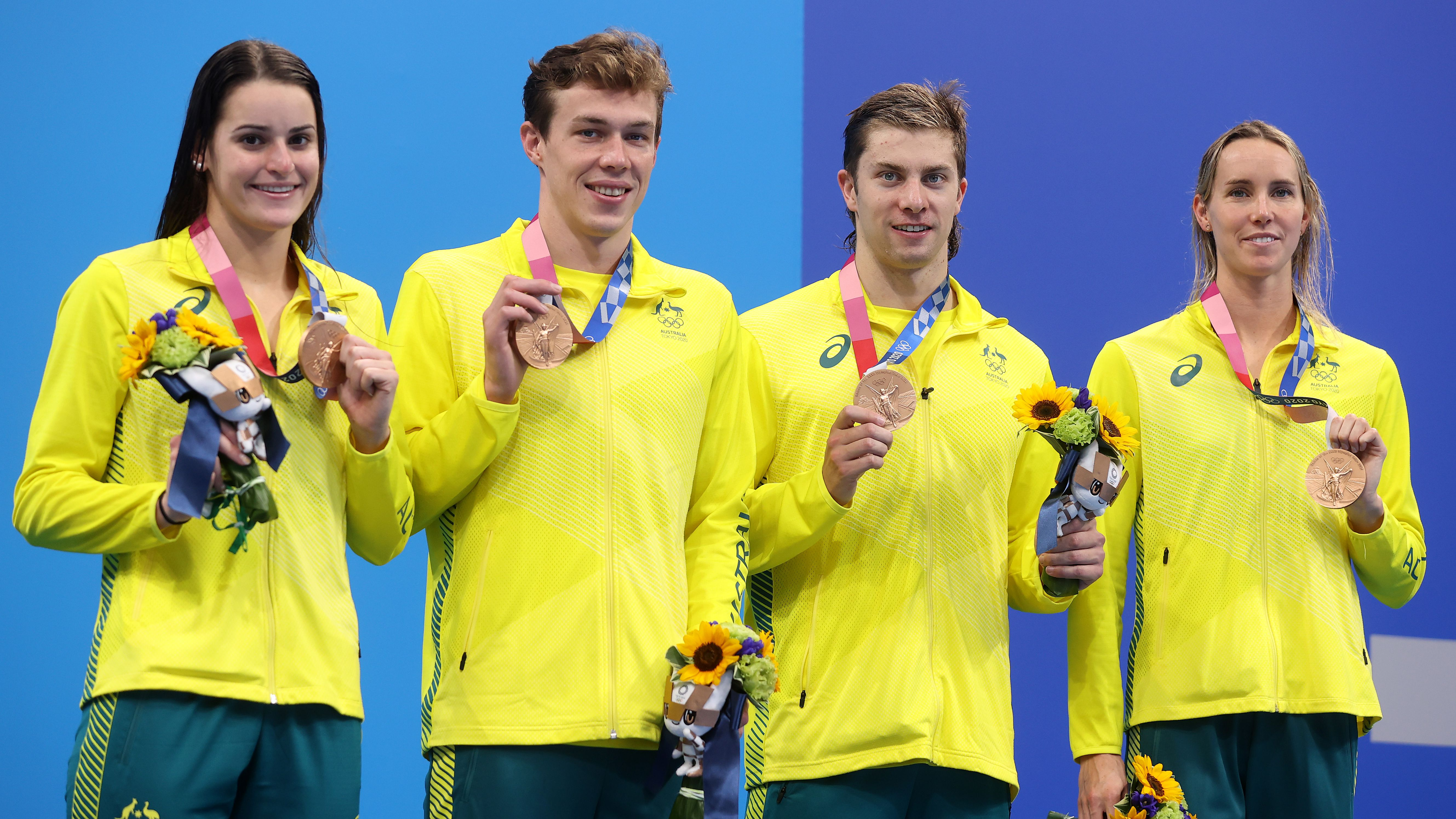 McKeon bags record medal haul in mixed medley