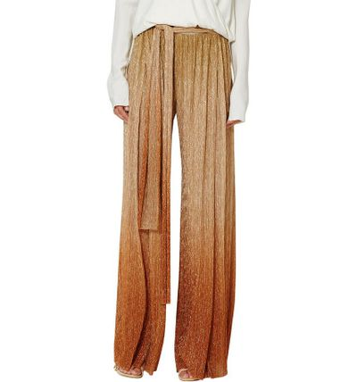 "Cocktail rule breaker<br /> You can shimmer and shine without slipping into a dress. These pants are the perfect alternative to the pleated metallic skirt you're seeing everywhere this season.<br /> <br /> Bec & Bridge Indian Sunset Pant, $220 at <a href=""http://shop.davidjones.com.au/djs/en/davidjones/indian-sunset-pant"" target=""_blank"">David Jones</a>"