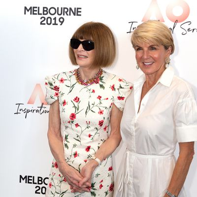 Anna Wintour and Julie Bishop