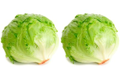 2 heads of lettuce are 100 calories