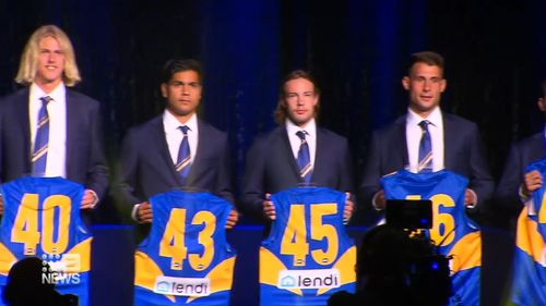 West Coast Eagles season launch