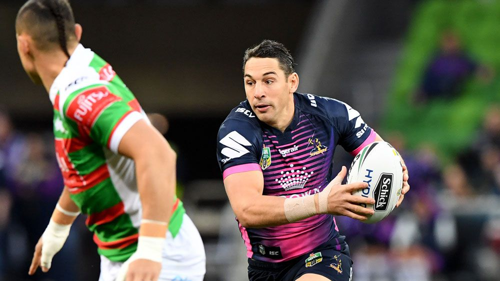 Storm score 11 tries in Souths NRL romp