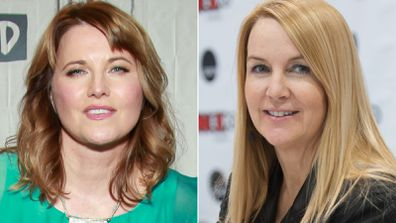 Lucy Lawless reunites with Xena co-star