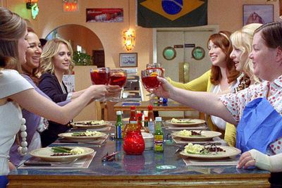 Really great comedies have been few and far between in 2011, but <i>Bridesmaids</i> was a beacon of hope for the future of funny films. Just don't eat too much of that dodgy Mexican food, ladies...
