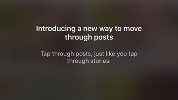 Instagram update horizontal feed