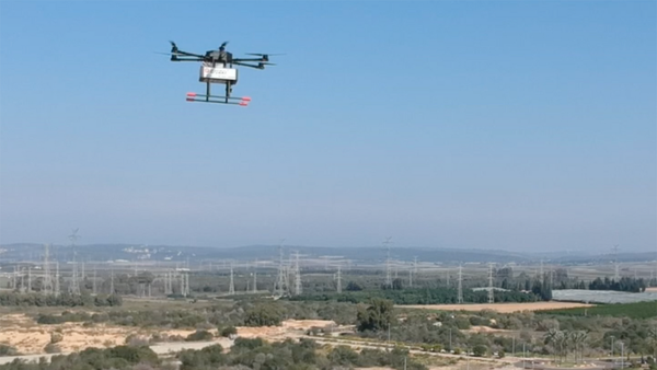 Pizza Hut Israel drone delivery testing