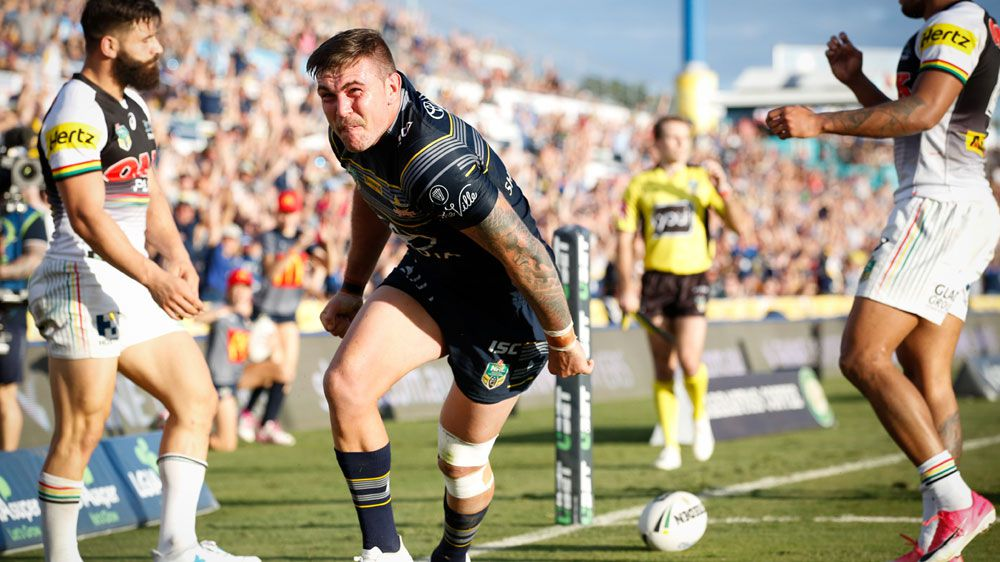 Cowboys squeak past Penrith in NRL win