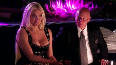 Erika Jayne and Tom Girardi on Real Housewives of Beverly Hills.