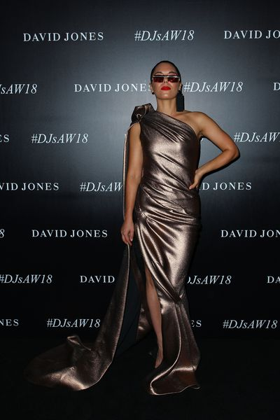George Maple at the David Jones Autumn/Winter 2018 launch