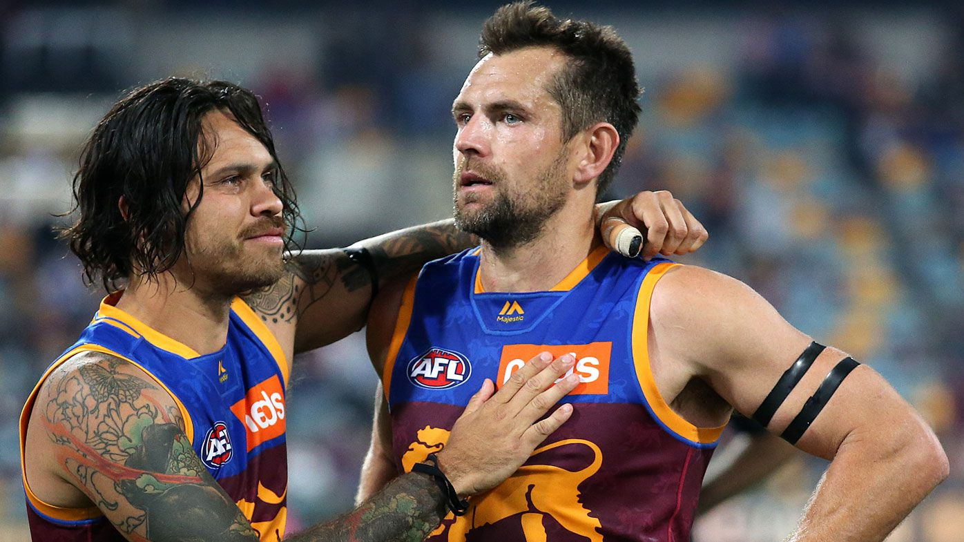 Brisbane Lions' Luke Hodge, Hawthorn legend, shines one last time in AFL