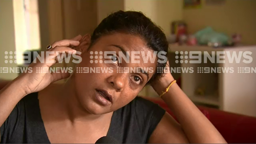 Sara alleges she was followed off a western Sydney bus by a woman who punched her, pulled her hair and bit her on the ear while bystanders just looked on.