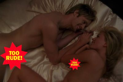 <b>Answer:</b> A real-life Sookie (Anna Paquin)/Eric (Alexander Skarsgård) sequence!