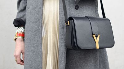 Saint Laurent Ligne Crossbody