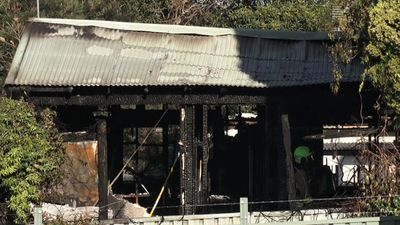 Men rescued after fire tears through Lake Macquarie home