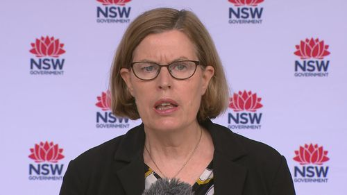 NSW Chief Health Officer Dr Kerry Chant said one additional case was confirmed after the reporting period.