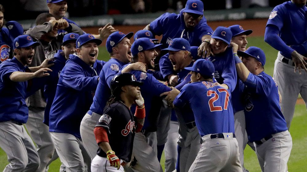 Baseball: Chicago Cubs win World Series