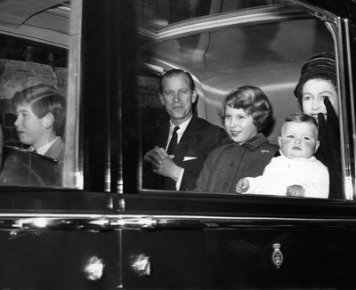Prince Andrew, 19 February 1960