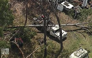 More storms likely for south-east Queensland as dozens of homes remain without power