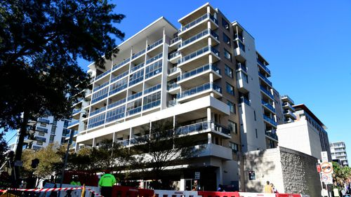 Mascot Towers is the second Sydney apartment building to be plagued by cracking in months.