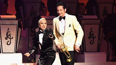 Lady Gaga and Brian Newman