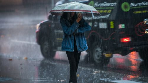 A series of cold fronts is set to bring rain, storms and snow to Australia's south in the coming week. Picture: AAP