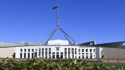 There has been a breach of security on Parliament House's IT network.