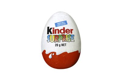Kinder Surprise: Over 2.5 teaspoons of sugar