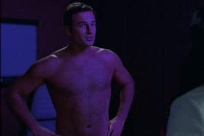 <b>Why is he naked? </b>Julian McMahon plays a womaniser, and womanisers get their best work done when they're not weighed down by clothes.