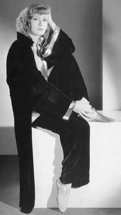<p>Greta Garbo</p>