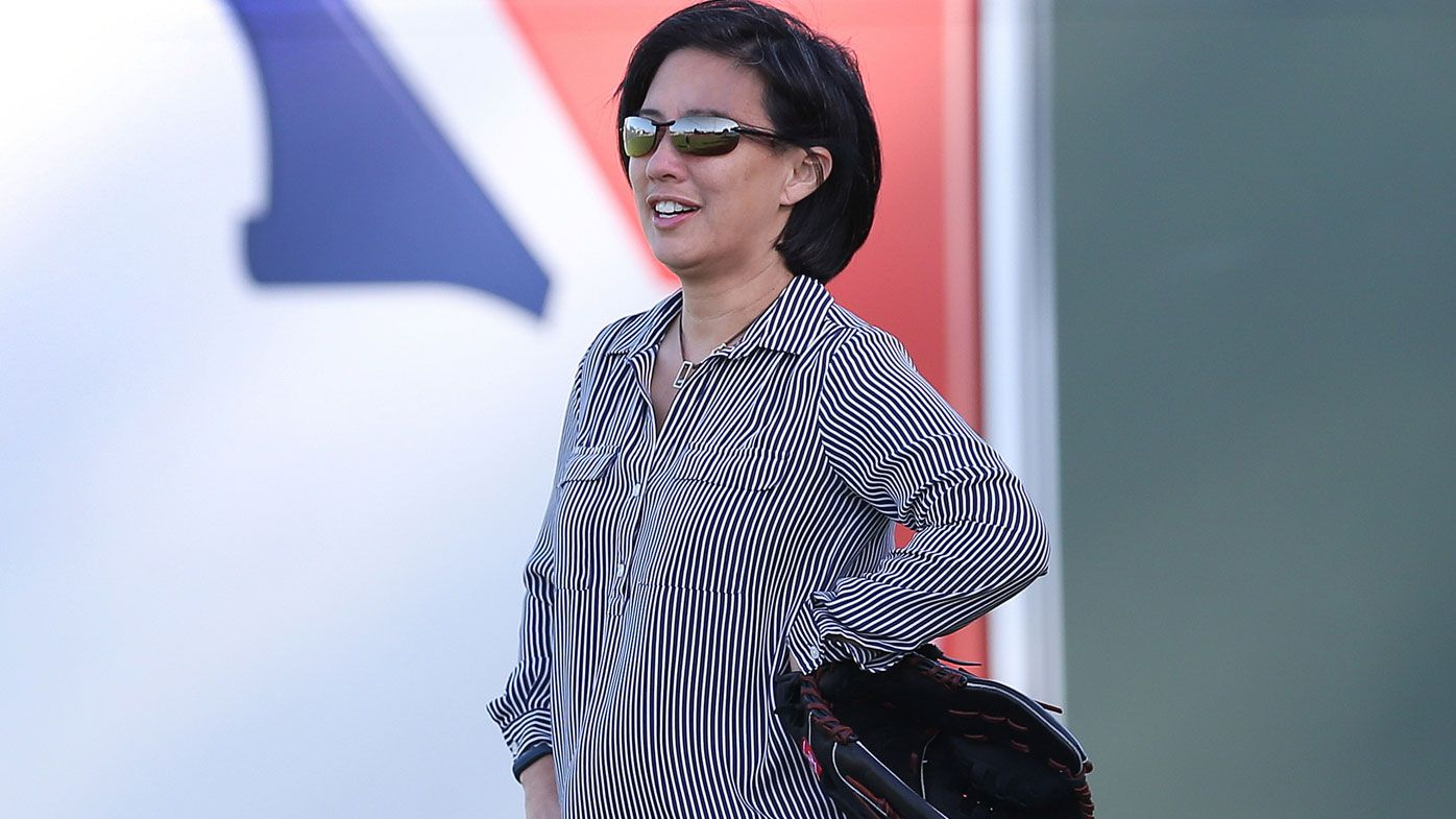 Kim Ng is the new GM of the Miami Marlins. (Getty)