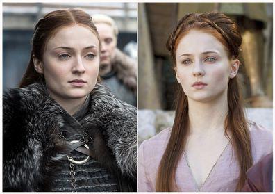 Sophie Turner in 'Game of Thrones'.