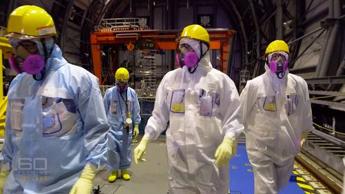 60 Minutes went inside the Fukushima nuclear plant.