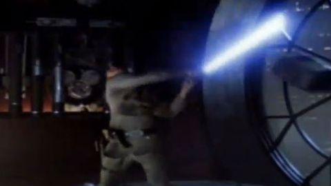 Mickey ears in Empire Strikes back