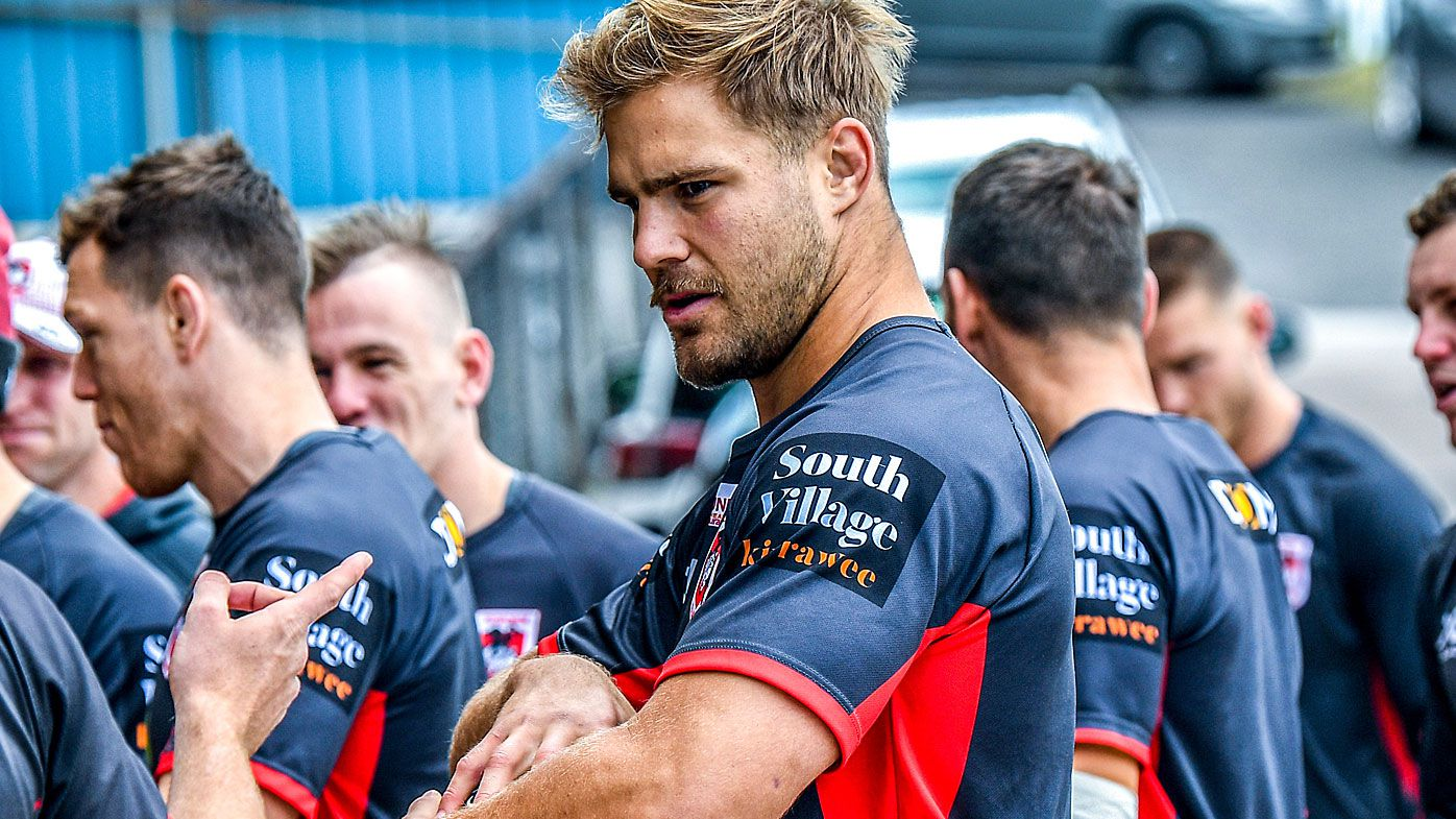 Dragons coach Paul McGregor calls for patience on Jack de Belin
