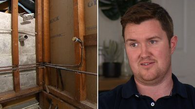 'What if it's asbestos?' Family's home DIY horror