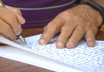 Man writes 190 letters to wife in nursing home.